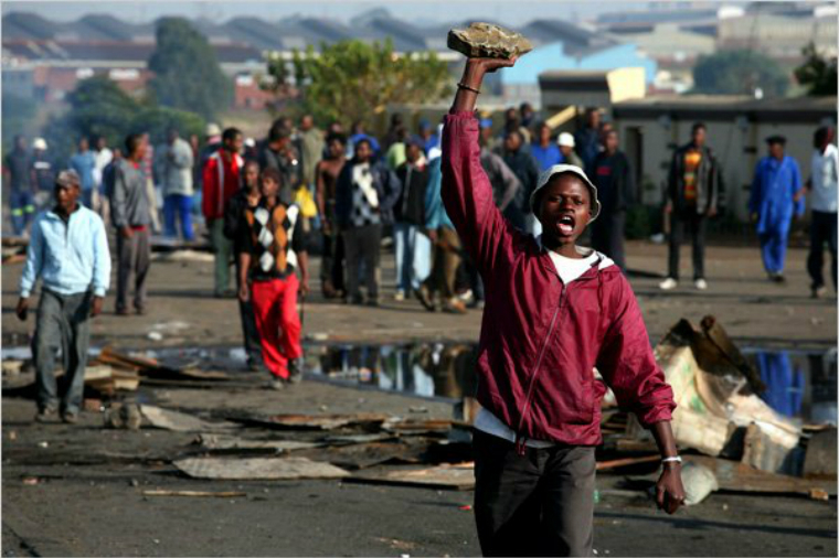 Watch: Atrocious Xenophobic Attacks In South Africa