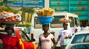 Street Hawkers Accra