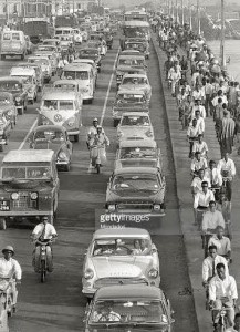 Orderly traffic in Lagos